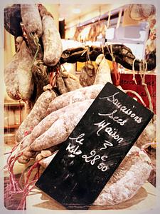 Saucissons secs maison Au Roy Gourmet ©Clémentine Chauveau