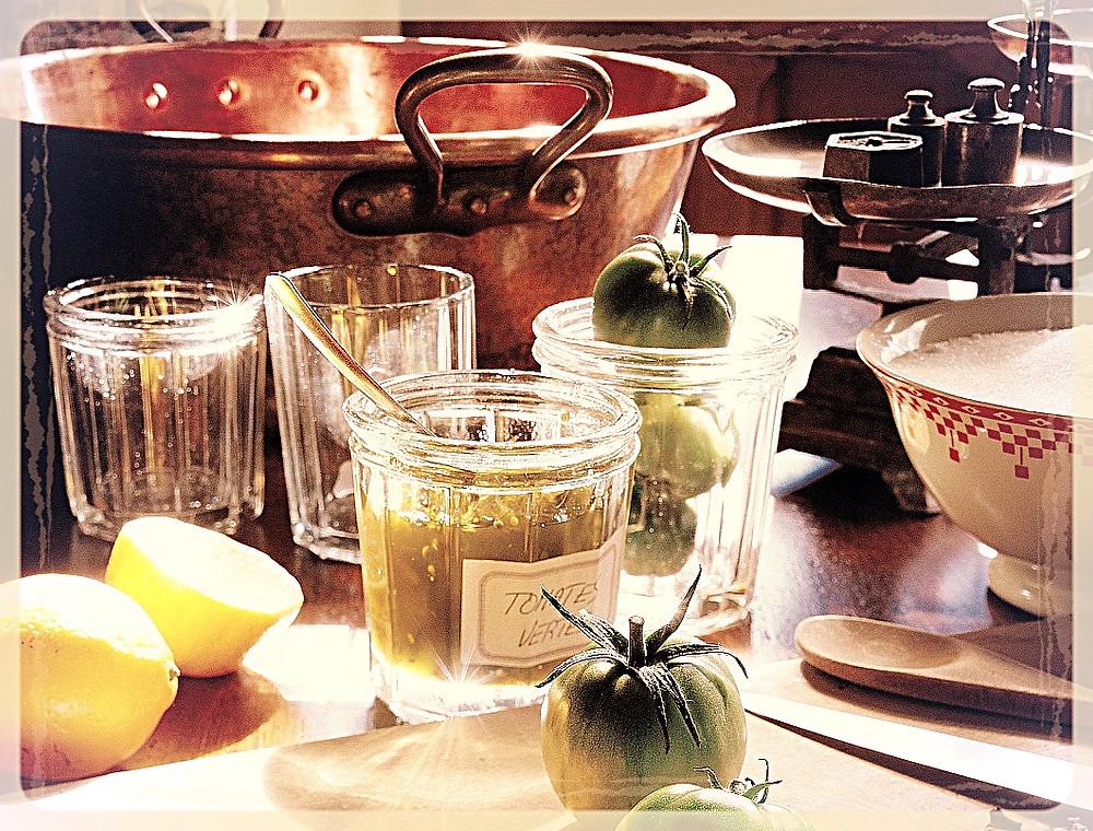Confiture de tomates vertes ©Laurent Dutheil