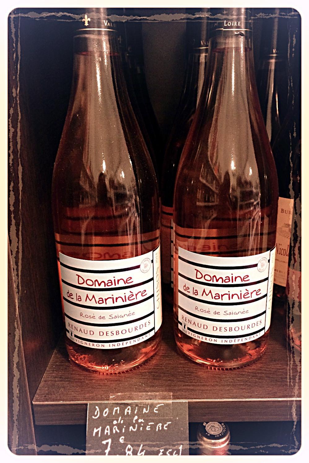 Rosé Domaine de la Marinière ©Clémentine Chauveau