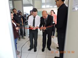 Inauguración de Laboratorio UPPue