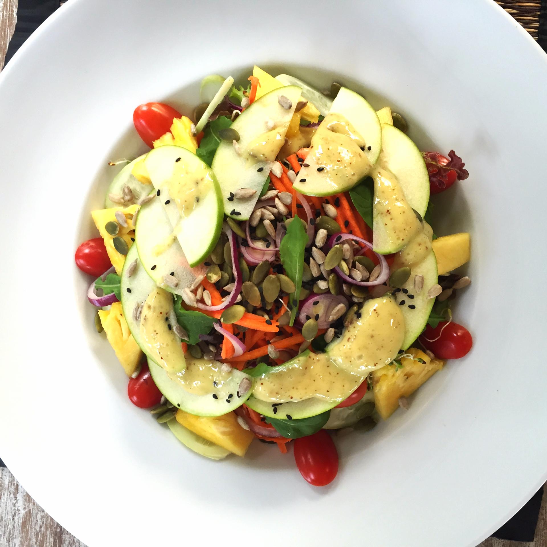 Pineapple Dijon Salad