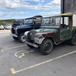 My 49 series 1 hanging out with his youn