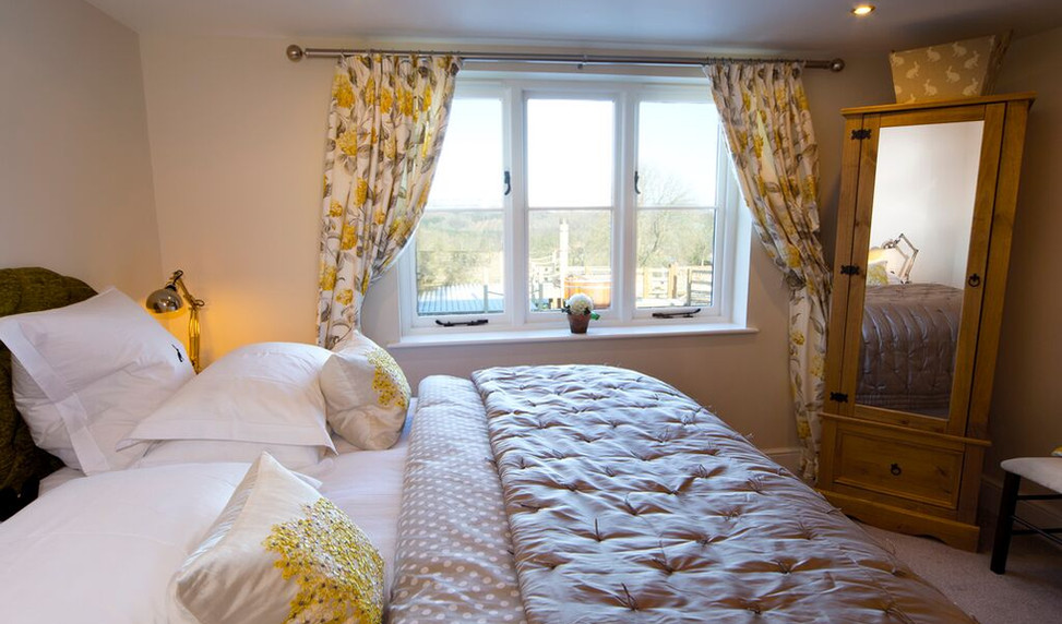 Super King room with view of garden