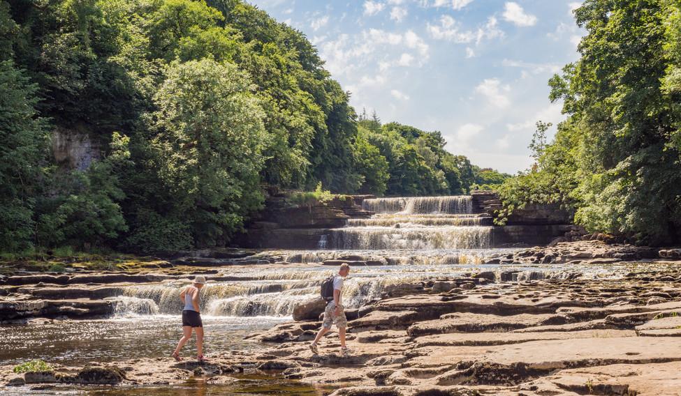 The Lower Falls, Aysgarth waterfalls