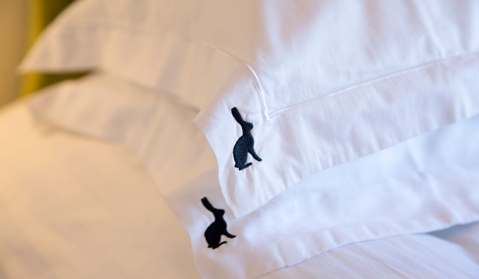 Pillow Cases with Hare logo