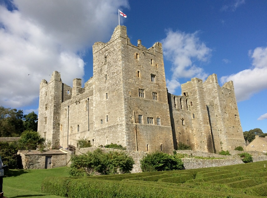 Bolton Castle just outside Leyburn 5 miles from Hare Cottage