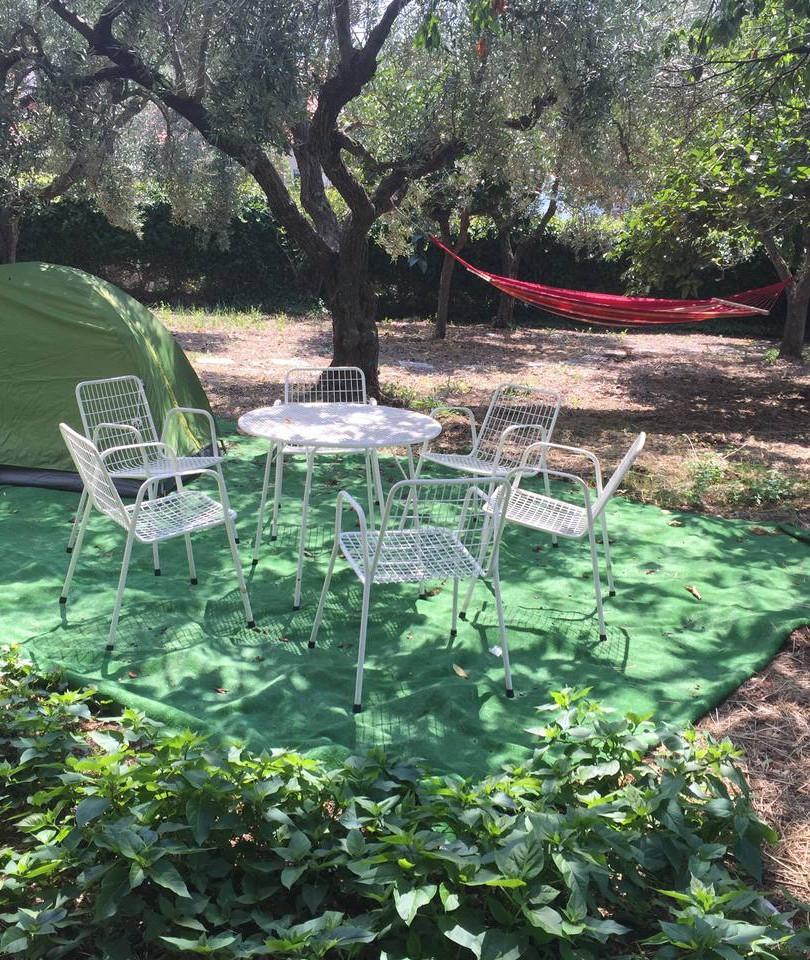 Zona relax giardino