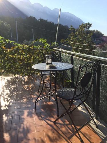 Camera Standard, terrazzino privato