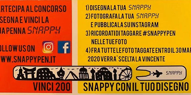 I classificato concorso Snappy Pen