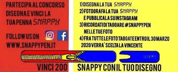 III classificato concorso Snappy Pen
