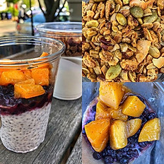 Fruit Salads & Granola