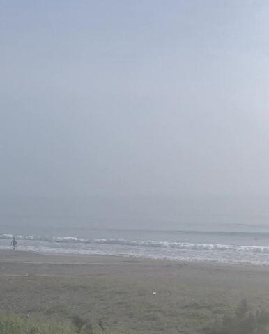 8月26日の朝の波