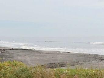 6月2日朝の波