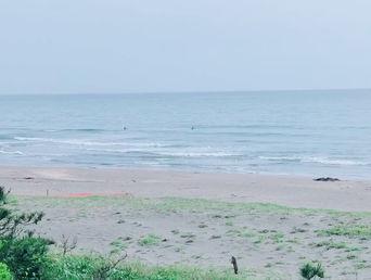 5月26日朝の波