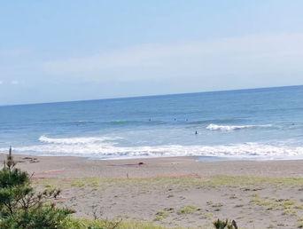 5月31日朝の波