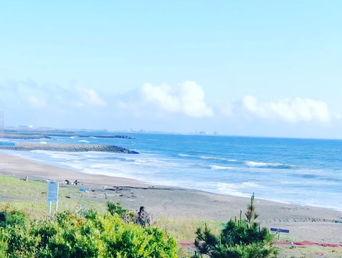 6月1日の朝の波