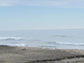 5月28日の朝の波