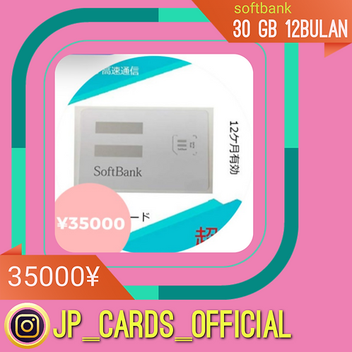 Softbank 30Gb