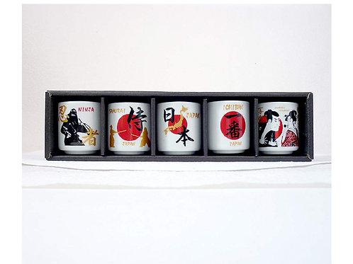 Mug Cantik Nihon 1 set (5pcs)