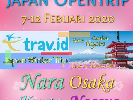 [JAPAN WINTER TRIP 2020] DAY 1