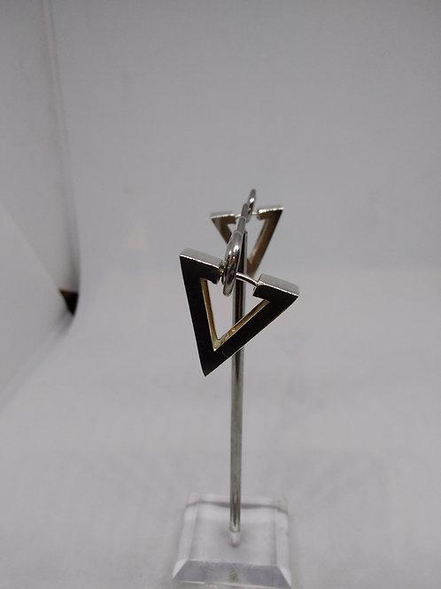 Argentviu Barcelona Zilveren oorstekers triangle