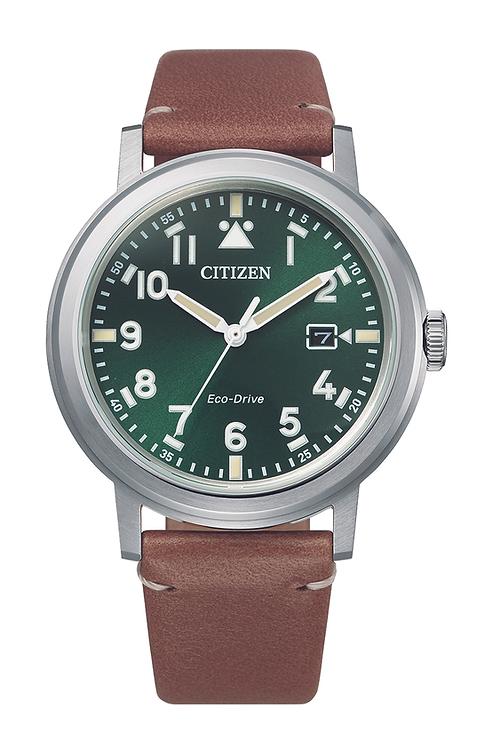 Eco drive pilot's watch