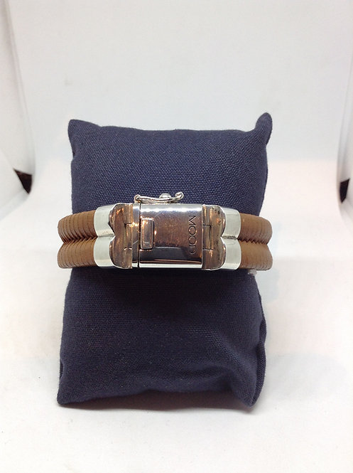 Bracelet double brown