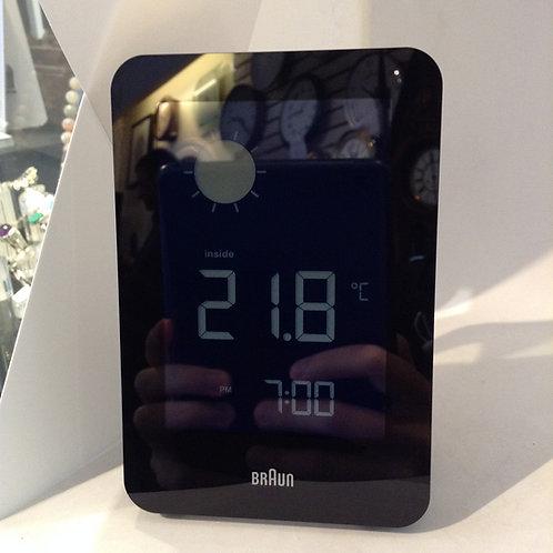 Braun Digital weather station clock