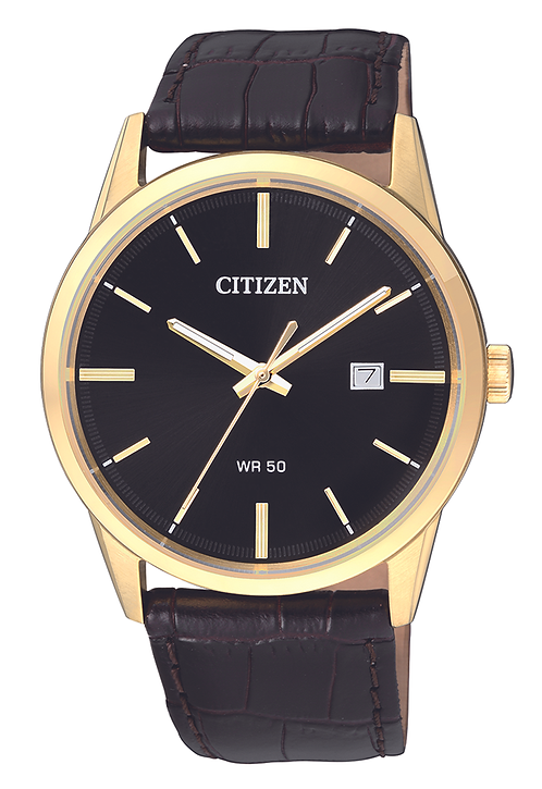 Goldplated gents watch