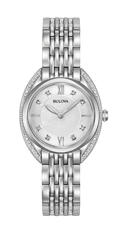Bulova for her with diamonds