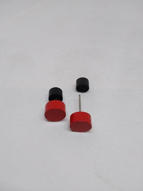 Tjonge jonge oorstekers rood