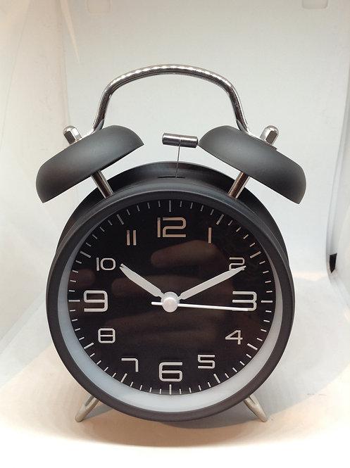 TFA alarm clock black