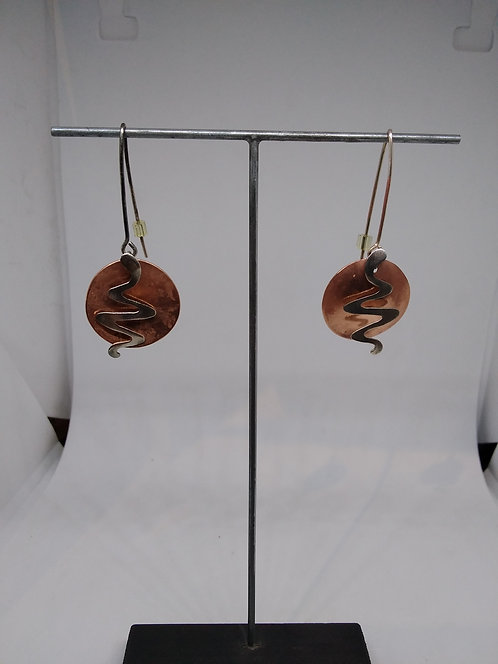 Argentviu Barcelona zilveren oorbellen