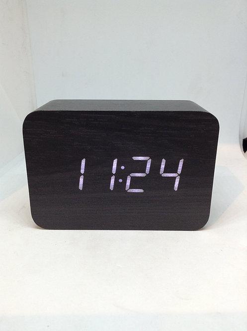 TFA Digital Radio-controlled alarm clock black