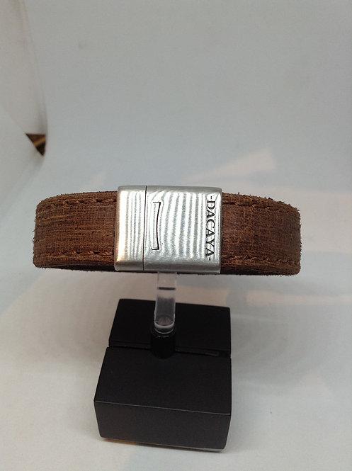 Dacaya bruin armband