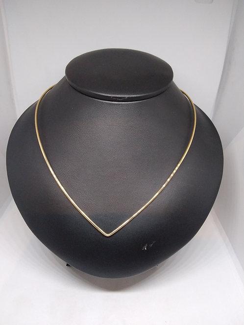 Gouden halssierraad 14 Krt.