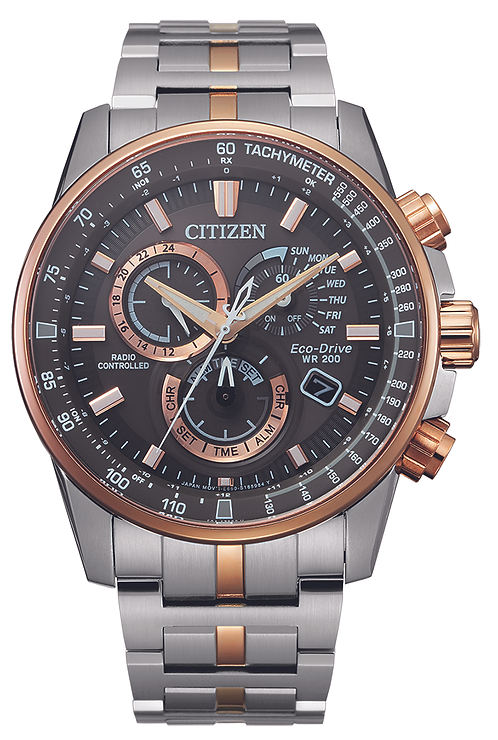 Radio controlled chronograph
