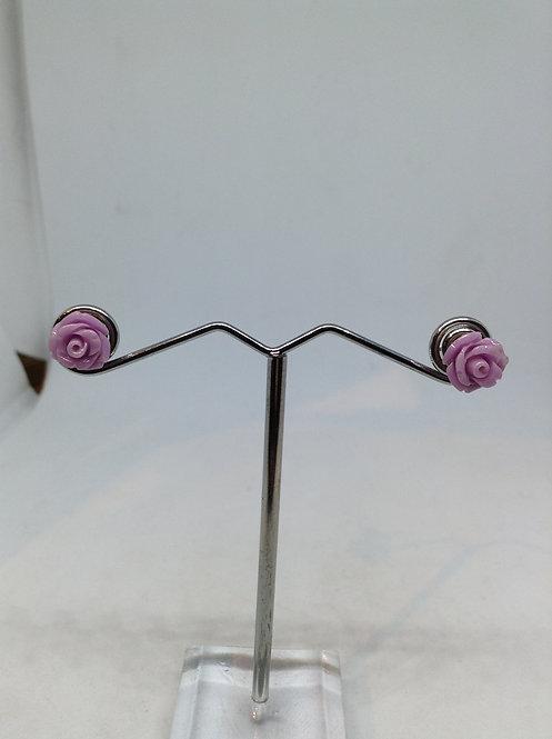 paarse roosjes oorstekers
