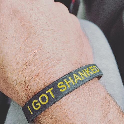 SSB I GOT SHANKED Wristband