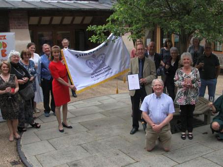 Shrewsbury Food Hub receives Queens Award for Voluntary Service