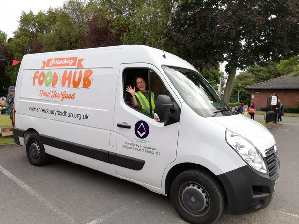 Pippa & Ronnie the van.jpg