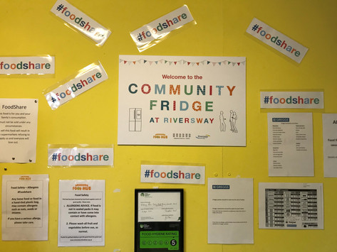 Community fridges- helping us save and share more food!