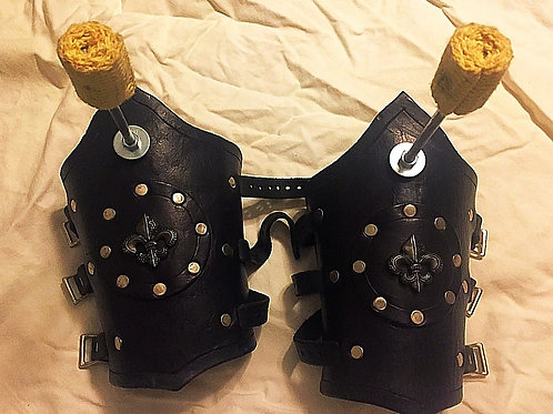 Custom Fire Gauntlets