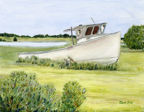 Retired (original oil painting 11x14)