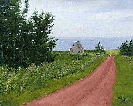 Lane at West Cape