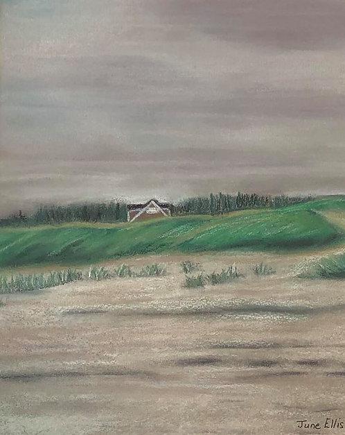 Quiet Paradise (original acrylic 8x10)