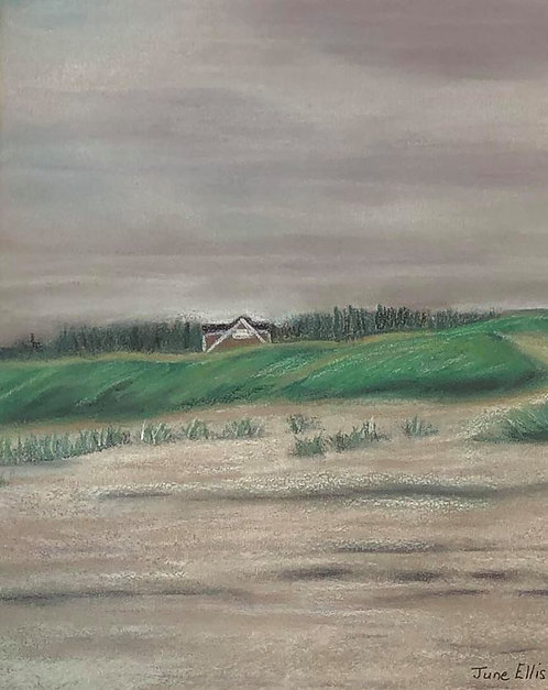 Quiet Paradise (original acrylic painting 8x10)