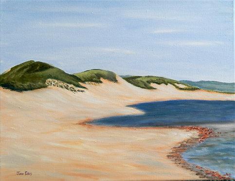 Cavendish Dunes (original oil 11x14)