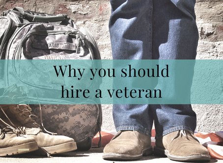 Hiring Veterans...Pt1