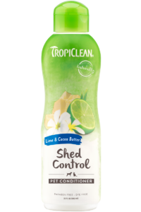 TropiClean Conditioner- Shed Control - Lime & Cocoa Butter (For Cats & Dogs)
